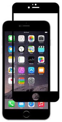 Защитная противоударная пленка Just Mobile для iPhone 6/6S (черная)