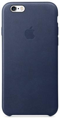 Чехол-накладка Apple iPhone 6/6S (темно-синий) MKXU2