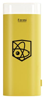 Портативная батарея Enrico Fermi 5000mAh yellow (LH2)