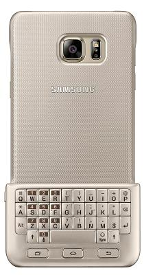Чехол-клавиатура Samsung Keyboard Cover для Galaxy Note 5 Gold