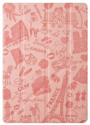 Чехол Ozaki O!coat Travel для iPad mini 4 Paris (розовый)