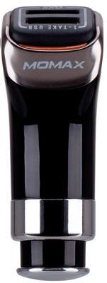 Автомобильное ЗУ Momax Dual USB 5V/4.8A (UC2D) black