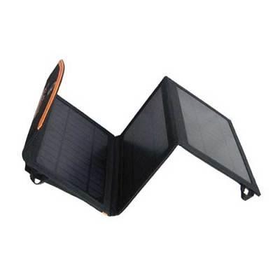 Солнечная панель SUPower USBx2 10W (SUP-F10D) black/orange