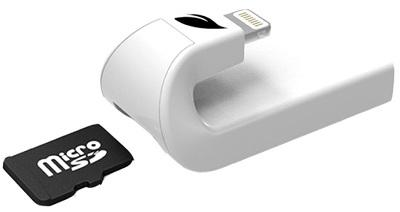 Картридер Leef iAccess microSD (White)