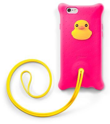 Чехол-накладка Bone Bubble Lanyard Duck для iPhone 6/6S