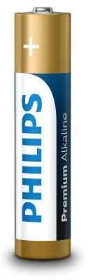 Батарейка PHILIPS PREMIUM Alkaline AAA