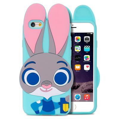 Фото Чехлы, Mobiking TPU Чехол Зверополис iPhone 6/6S Rabbit