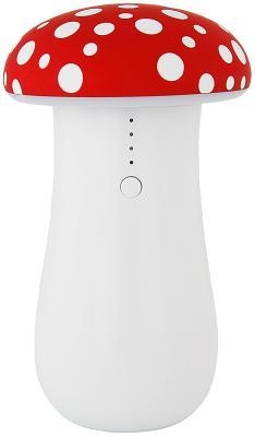 Мобильный ночник с функцией портативной батареи Union 7500 mAh amanita (Mushroom)