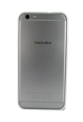 Бампер Metal Frame для Blackview Ultra Plus (серебро)
