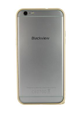 Бампер Metal Frame для Blackview Ultra Plus (золотой)