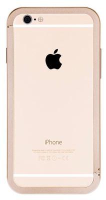 Чехол Just Mobile Aluminum Bumper для iPhone 6/6S (золотой)