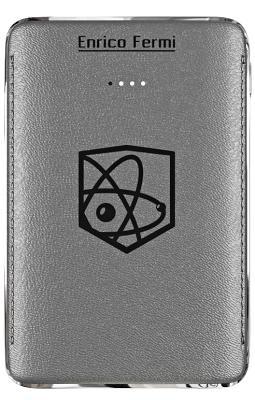 Портативная батарея Enrico Fermi 6100mAh gray (S10)