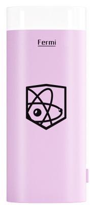 Портативная батарея Enrico Fermi 5000mAh pink (LH2)