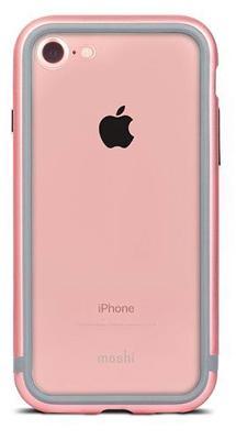 Бампер Moshi Luxe Metal для iPhone 7 (розовый)
