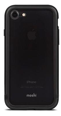 Бампер Moshi iPhone 7/8 Luxe Metal bumper Titanium Gray