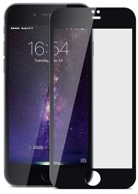 Защитное стекло Remax Caesar Full Screen 3D Curved для iPhone 6/6s (черный)