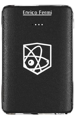Портативная батарея Enrico Fermi 6100mAh black (S10)