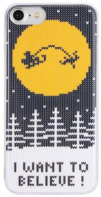 Чехол-накладка FL?VR Ugly Xmas Sweater Believe для iPhone 7/8