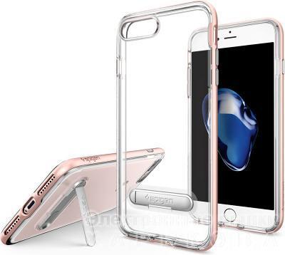 Чехол-подставка Spigen Crystal Hybrid iPhone 7 Plus/8 Plus - Чехлы для телефонов, mp3 плееров на рынке Барабашова