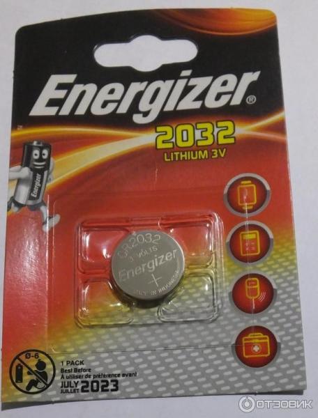 Батарейка литиевая 3 V CR2032 Energizer (разное кол-во в уп. и ЦЕНА, см. подробнее)