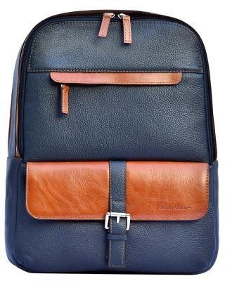 Рюкзак для ноутбука ISSA HARA (Black/Brown) BP2 13-33-04
