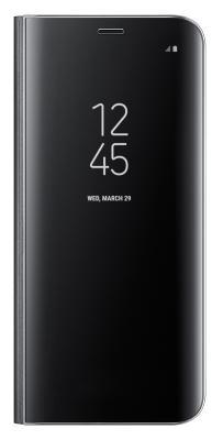 Чехол-книжка Samsung Clear View Standing Cover для Galaxy S8 (черный)