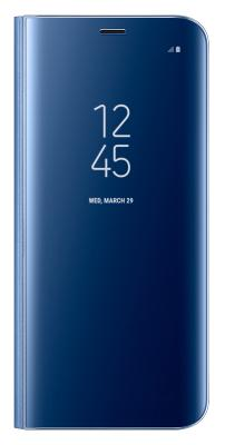 Чехол-книжка Samsung Clear View Standing Cover для Galaxy S8 (голубой)