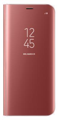 Чехол-книжка Samsung Clear View Standing Cover для Galaxy S8 (розовый)