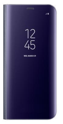 Чехол-книжка Samsung Clear View Standing Cover для Galaxy S8+ (фиолетовый)