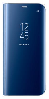 Чехол-книжка Samsung Clear View Standing Cover для Galaxy S8+ (голубой)