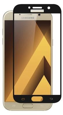 Защитное стекло ZOOL для Samsung A7 2017 (черный)