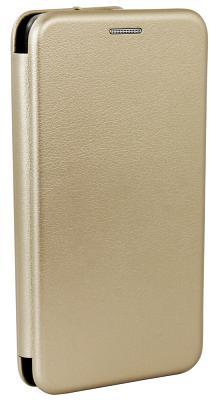 Фирменный чехол-книжка Meizu Original Gold для M5s
