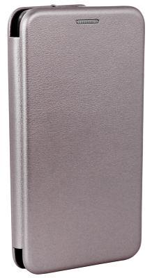 Фирменный чехол-книжка Meizu Original Grey для M5s