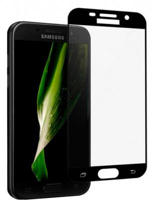 Защитное стекло Star Glass Samsung Galaxy А3 2017 2.5D full cover Black