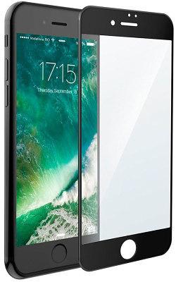 Защитное стекло Gio iPhone 7 3D full cover glass black