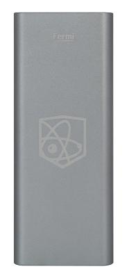 Портативная батарея Enrico Fermi 10000mAh gray (S7-plus)