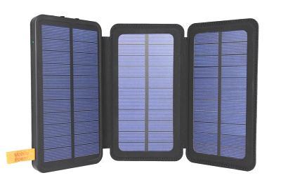 Портативная батарея JKYO 8000mAh Solar black (JK-PBS01A)
