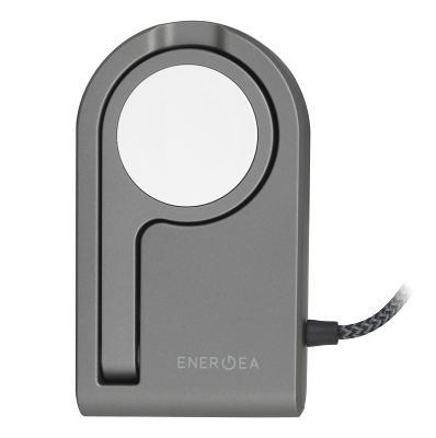 Универсальное сетевое ЗУ Energea для Apple Watch (Magnetic) grey