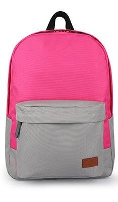 "Рюкзак Miracase Back to school 15.6"" (Pink\Grey) NB-8139PG"