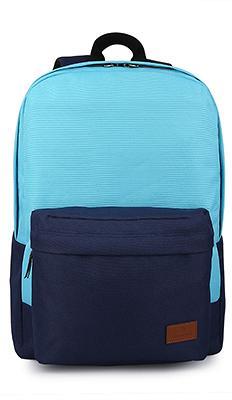 "Рюкзак Miracase Back to school 15.6"" (Black\Dark Blue) NB-8139Bl"