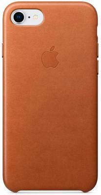 Чехол-накладка Apple iPhone 8/7 Leather Case Saddle Brown