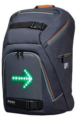 "Рюкзак для ноутбука Port Designs с LED подсветкой 15.6"" (Grey) 202330"