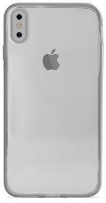 Чехол-накладка Puro Ultra Slim ''0.3 Nude'' (Transparent) для iPhone X
