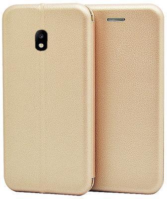Чехол-книжка Gio Case Samsung Galaxy J730 Gold