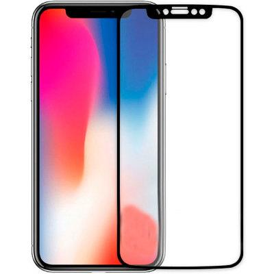 Гибкое стекло Gio iPhone X full cover black