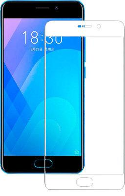 Гибкое стекло Gio Meizu M6 Note full cover white