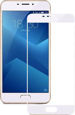 Гибкое стекло Gio Meizu M5 Note full cover white