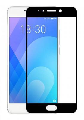 Гибкое стекло Gio для Meizu M6 (Черный) Full Cover