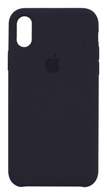 Чехол-накладка Copy Original Silicone (Midnight Blue) для iPhone X