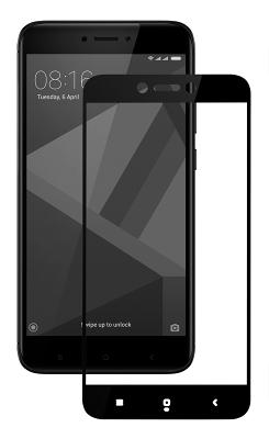Защитное стекло Miami Xiaomi Redmi 4X Full Screen Black